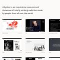 Httpster –世界各地最潮的網頁設計案例聚合網站