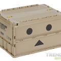 紙箱人化身成「膠箱人」!TRUSCO x DANBOARD 紙箱人阿楞摺疊式儲物箱