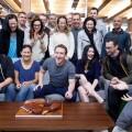 扎克伯格33歲生日合照曝光,Facebook帝國背後20位「掌權者」現真容
