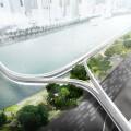 天馬行空暢想未來交通,寶馬提出一種「電動兩輪車高架道路系統」