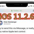 iOS 11.2.6更新:修復惡意印度字符導致App崩潰