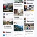 WordPress旅遊博客瀑布流主題Return