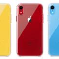 傳說中的 iPhone XR 官方清水透明保護殼開賣