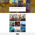 簡潔優雅的免費zblog旅遊博客主題Duang