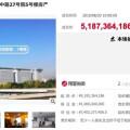 國資金隅51.87億接盤「龍首」 創網絡法拍新紀錄