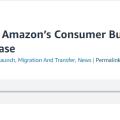 Amazon消費者業務宣布永久關閉Oracle數據庫