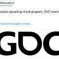 GDC 2021推遲到明年7月舉行