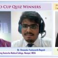 印度Kasturba医学院在NCRM NICHE 2020上赢得第15届Fujio Cup Quiz