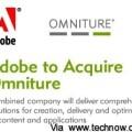 Adobe 出價140億收購Omniture