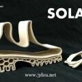 Kai Parthy推出類似橡膠的3D打印線材SOLAY
