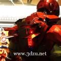 香港創客用3D打印技術打造精細鋼鐵俠裝甲